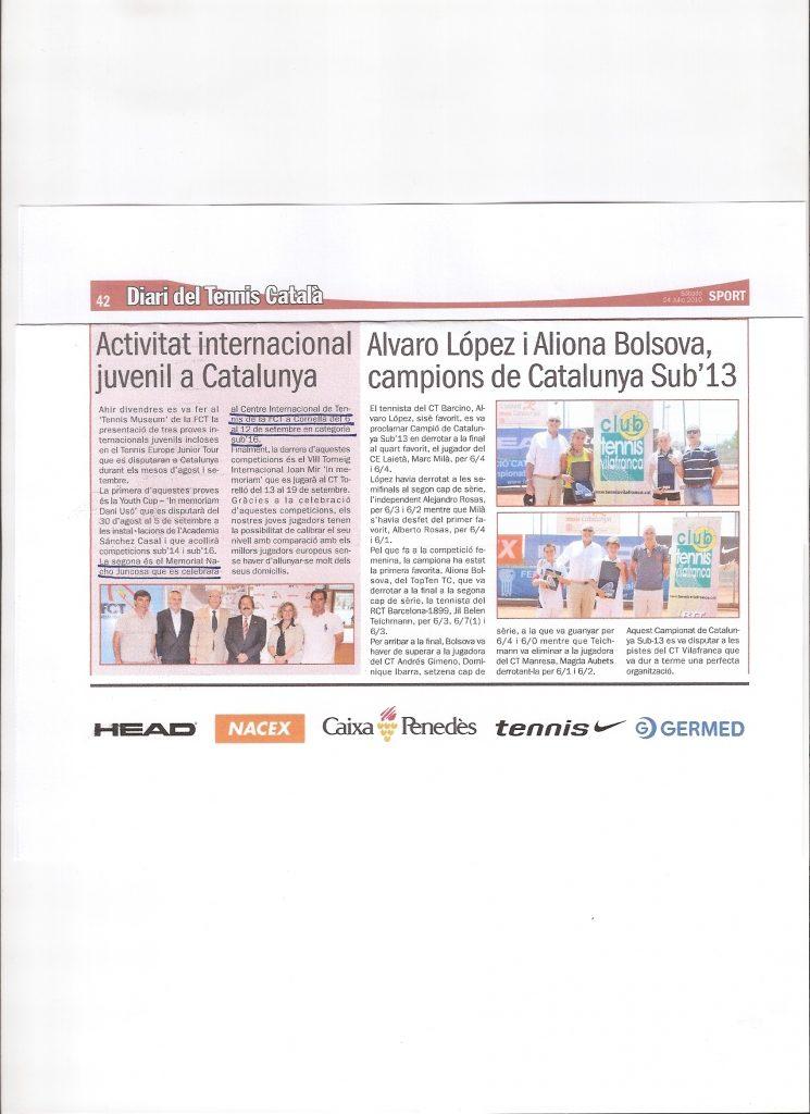 Prensa Memorial 2010